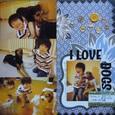 PL#119  I LOVE DOGS