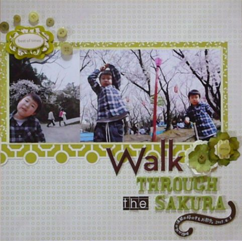 PL#132 Walk through the SAKURA